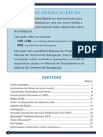 Civic 2012 - Guia de Consulta Rápida
