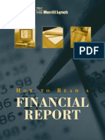 How to Read a Financial Report by Merrill Lynch