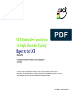 UCI Stakeholder Consultation by Deloitte