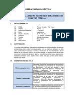 Unidad Didáctica -  Matemática 1ro Sec. 2014