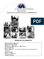 TEORÍA DE LA CONDUCTA 2009