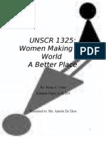 UNSCR 1325