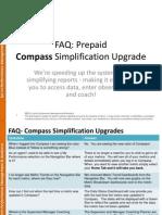 FAQ Prepaid Compass Simplification Updates