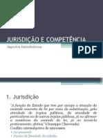 Jurisdição e Competência_Aspectos Introdutórios