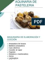 Maquinaria de Pasteleria