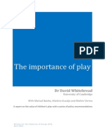 David Whitebread 2012 the Importance of Play