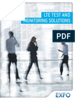 Brochure LTE Test and Monitoring En