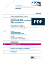 Agenda Applicants Seminar