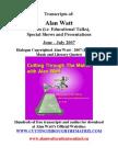Blurbs June-July 2007
