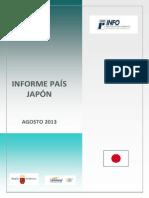 Informe país Japón 2013 OK