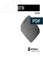 DCT700 User Guide