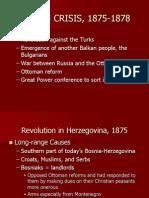 Ottoman Empire 1875-1913