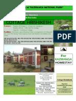 Kaziranga Hotel Cottage Hrishikesh