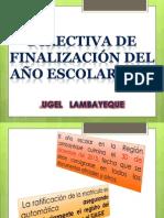 PRESENTACIÓN FIN DE AÑO ESCOLAR 2013