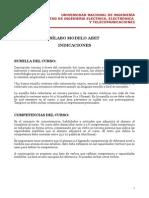 3. Silabo Modelo ABET - Indicaciones