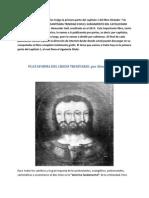 Plataforma Del Credo Trinitario. Por Alexander Gell.