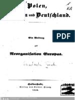 C. Frantz Polen Preussen Und Deutschland