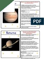 Le Bonheur en Famille Jupiter Saturne