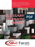 Peco Facet Glossary Filtration Terms