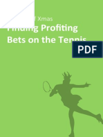 Finding Profiting Bets on the Tennis