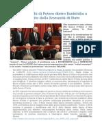 Ecco i giochi di Potere dietro Bankitalia a discapito della Sovranità di Stato