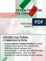 Presentation on Cross Cultural Communication