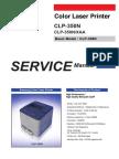 Samsung CLP 350N Series Service Manual