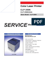 Samsung CLP 350N Series Service Manual