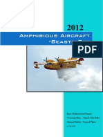 RC Amphibious Aircraft Report - Construction, Calculation & Project Management