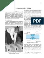 Nondestructive Testing on Concrete