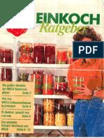 Einkoch Ratgeber - Weck