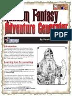 D20 Master Kit - Random Fantasy Adventure Generator