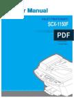 Samsung SCX 1150 MFP Service Manual