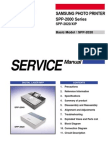 Samsung SPP 2000 and SPP 2020 XIP Service Manual