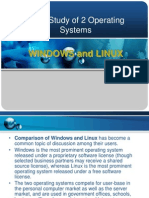 Comparing 2 Operating Systems