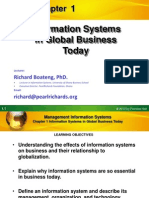 Information System in Global Business