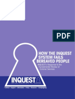 How the Inquest System Fails Bereaved People