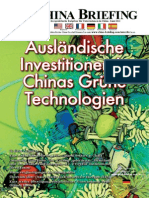Auslndische Investitionen in Chinas Grne Technologien