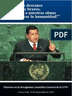 Discurso del presidente Chávez en la onu