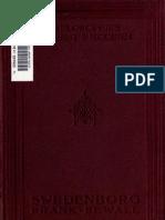 Frank Sewall SWEDENBORG AND THE SAPIENTIA ANGELICA London 1910