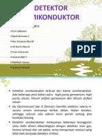 Detektor Semikonduktor