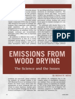 Emissions From Wood Drying