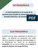 ELECTROQUÍMICA - PPT 2013-II