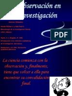 La Obs. en La Investig. Cientifica