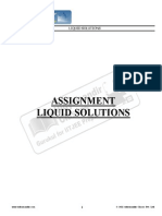 IIT JEE2013 -Liquid Solution - I