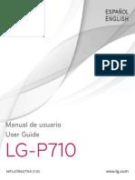 LG P710 Optimus L7 II Guia de Usuario