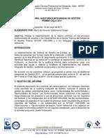 Inf Audit Calidad 2011-1