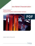 Final Plastics Market Characterization