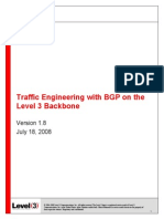 Traffic Engineering With BGP and Level3