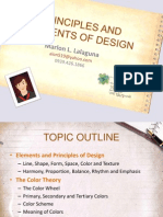 Embroidery Principles and Elements of Design
